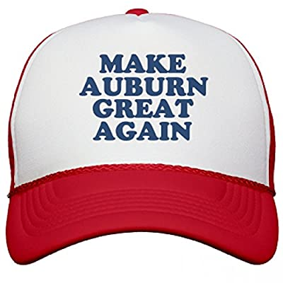 Make Auburn Great Again Hat: Snapback Mesh Trucker Hat