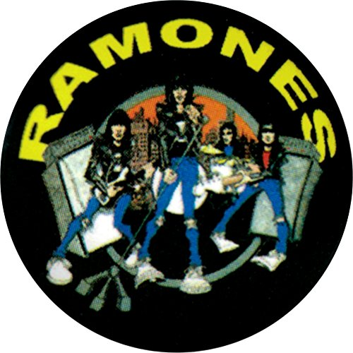 Ramones Pin Button - The Ramones Road To Ruin Pin Button