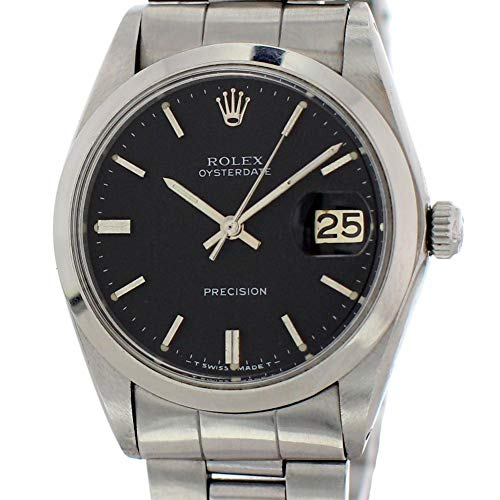 Pre Owned Rolex - Rolex Oysterdate Mechanical-Hand-Wind Male Watch 6694 (Certified Pre-Owned)