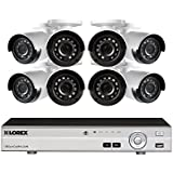 Lorex 8 Channel HD Analog DVR with 2TB HDD Security System, with 8 1080p Cameras130' Night Vision