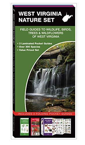 West Virginia Nature Set: Field Guides to Wildlife, Birds, Trees & Wildflowers of West Virginia