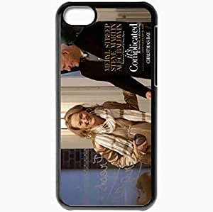 Personalized iPhone 5C Cell phone Case/Cover Skin Its Complicated Meryl Streep Jane Steve Martin Adam Movies Black