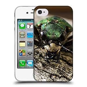 Super Galaxy Coque de Protection TPU Silicone Case pour // F00000049 insecto // Apple iPhone 4 4S 4G