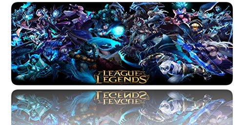 Large Gaming Mouse pad League of Legend (D5) (Best Mouse Sensitivity For League Of Legends)