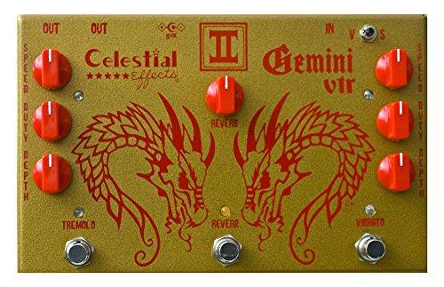celestial-effects-gemini-vtr-vibrato-tremolo-reverb-guitar-effects-pedal