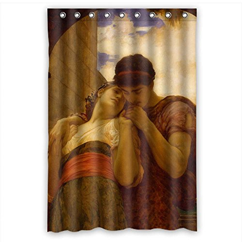 giood-frederic-leighton-art-painting-polyester-christmas-shower-curtains-width-x-height-48-x-72-inch