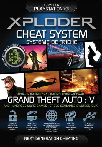 Xploder Cheat System for PS3 - Special Edition for Grand Theft Auto V + 100s More Games (PS3) (New): Amazon.es: Videojuegos