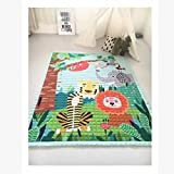 Ustide Modern Style Baby Play Mat for Floor, 57 x 76.8 Inches   Reversible Thick, Extra Large Cotton Playmat For Boys,Normal