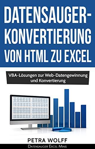Amazon com: Datensauger-Konvertierung von HTML zu Excel: VBA
