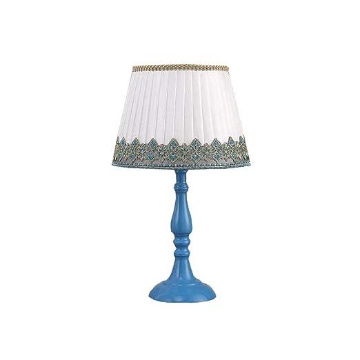 Mon5f Home Lámpara de Mesa LED Base de Metal Lámpara Moderna ...