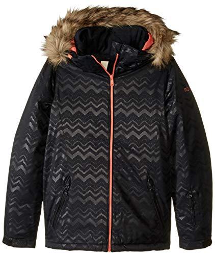 Roxy Snow Big American Pie Solid Girl Jacket, True Black AZTECSPIRITEMBOS, 12/L