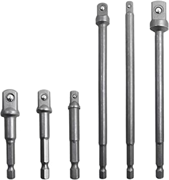 1//4 Inch Shank Hex Drive Bit Power Extension Drill Socket Adaptor