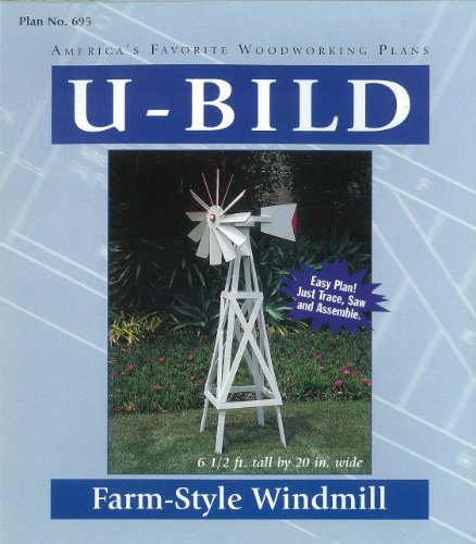 U-Bild 695 Farm-Style Windmill Project Plan