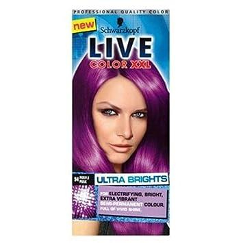 Schwarzkopf Live Farb Xxl Extrem Brights 94 Purple Punk Semi
