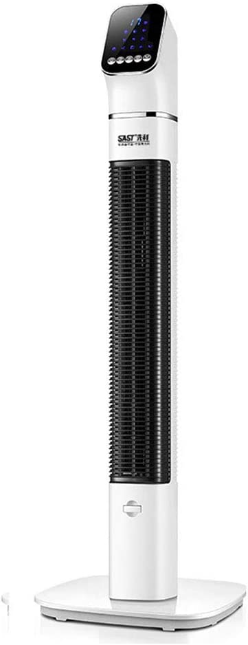 Ventilador de torre Oscilación, Sincronización silenciosa del piso de la torre de enfriamiento eléctrico T l comando 60W Sin función de parpadeo vertical sin hojas verticales ( Color : 130*52*9cm )