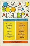 Logic and Boolean Algebra, Levitz, Hilbert and Levitz, Kathleen, 0812005376
