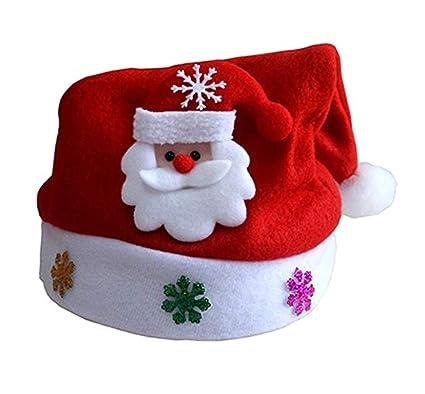 Confezione da 2 bambini festa di Natale cappello festive Holiday cappellino  natalizio tradizionale per bambini ( dcb617812e41