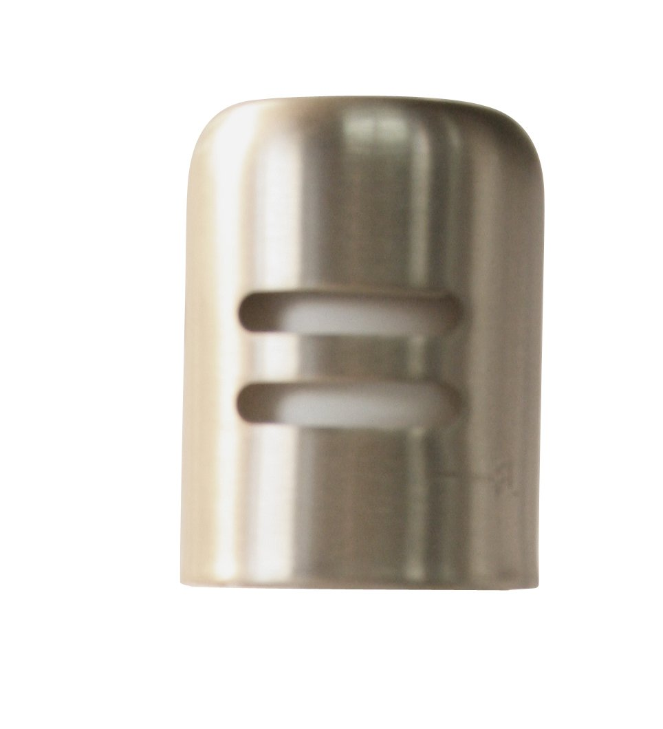 Westbrass D201-56 Air Gap Cap Only, Powder Coat Silver by Westbrass