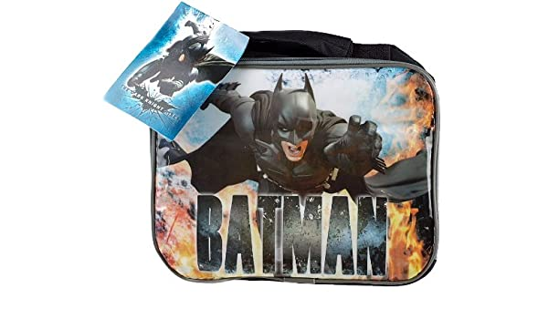 La caja de almuerzo bolsa aislante de Batman (nuevo diseño): Amazon.es: Hogar