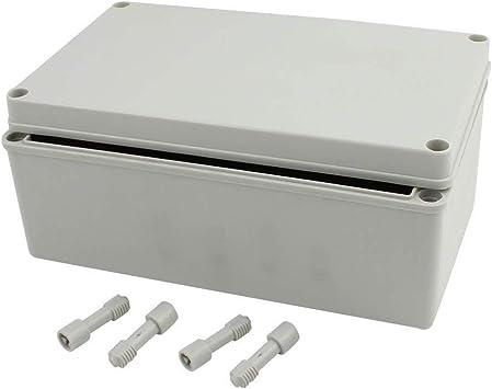 250mm x 150mm x 100mm IP65 Caja de Empalmes Conexiones a Prueba de Polvo de DIY Bricolaje Carcasa Gris: Amazon.es: Bricolaje y herramientas