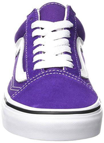 Vans Old Skool Platform Shoes Petunia / True White Qa1 7200