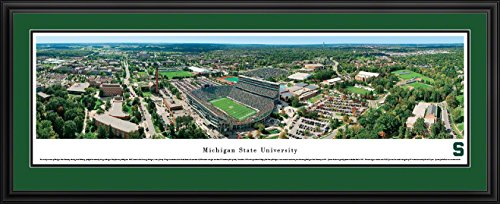 Michigan State Spartans Stadium Aerial - 2