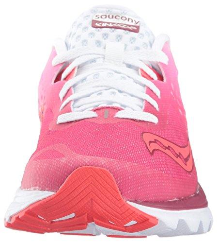 Kinvara Compétition Berry Saucony de Chaussures 8 White Femme Running zwq7dBxd