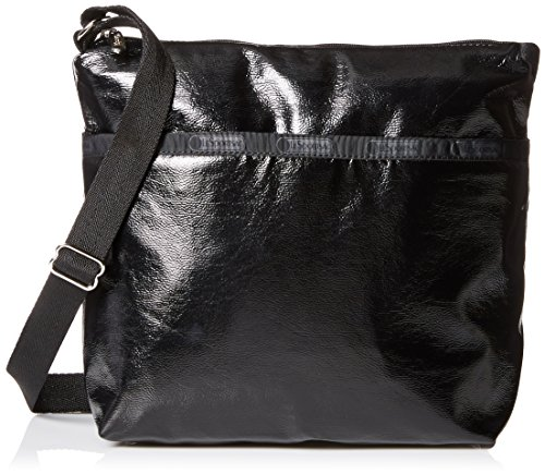 LeSportsac Classic Small Cleo Crossbody Hobo Black Classic Handbag