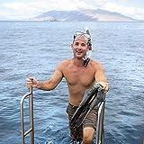 Seavenger Diving Dry Top Snorkel Set with Trek
