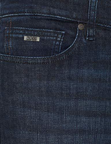 p Blu Casual 417 Delaware Straight Bc Boss Uomo Jeans navy qRt1Hx0