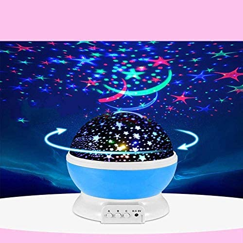Rotierende führte Traum bunten Projektor starry Nachtlicht Nachtlicht Starlight-Projektor xuwuhz