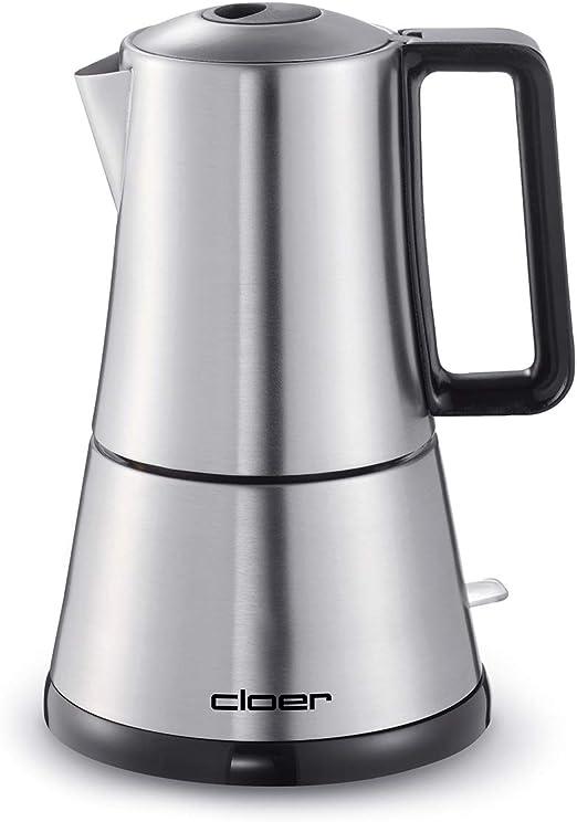 Cloer 5928 5928-Cafetera eléctrica, 365 W, Acero Inoxidable ...