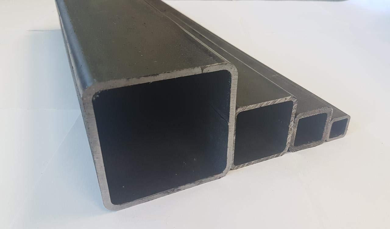 Stahlrohr Quadratrohr Vierkantrohr 25x25x3 mm E235 EN 10305-5 1000mm 500-2000mm