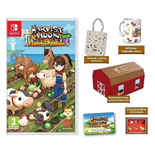 chollos oferta descuentos barato Harvest Moon La luz de la esperanza Edición Coleccionista Nintendo Switch