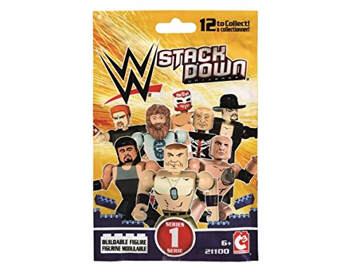 WWE Stackdown Series 1 Assorted Buildable Figure (6 Pack)