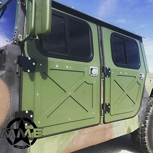 New Hummer H1 Military 998 Humvee HMMWV Aluminum Hard Door KIT (Set of 4)