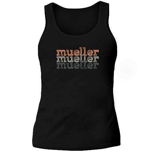 Idakoos Mueller repeat retro - Cognomi - Canotta Donna