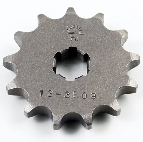 JT STEEL FRONT SPROCKET 13 TOOTH, Manufacturer: JT SPROCKET, Manufacturer Part Number: JTF428.13-AD, Stock Photo - Actual parts may vary.