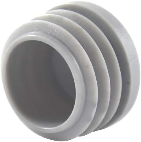 25 Lamelles bouchon blanc Ø extérieur 25 mm-WS 3,0 à 5,0 mm-Tube Bouchon