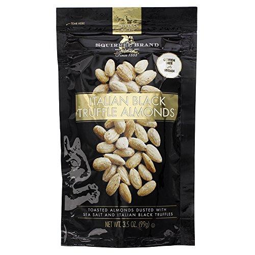 Squirrel Brand Italian Black truffle Almonds 3.5 oz - Pack of (Wild Squirrel)