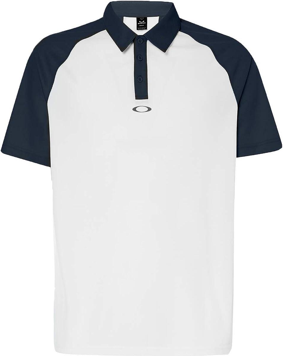 Oakley - Polo de Golf Tradicional para Hombre - Negro - X-Large ...