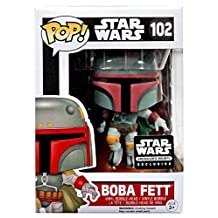 Funko POP Star Wars: Boba Fett Action Figure Exclusive Smuggler's Bounty