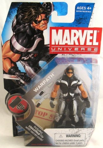 Marvel Universe 3 3/4' Series 2 Action Figure Warpath