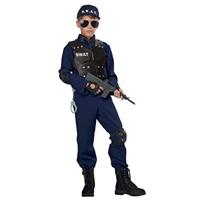 Junior Swat Costume for Kids: Toys & Games