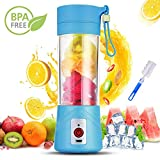 Portable Blender, Gupacido USB Rechargeable Personal Blender Electric Mini Blender Fruit, Smoothie, Ba