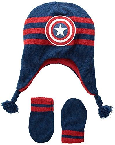 171d8a205 Marvel Baby Boys Avengers Infant Cap, Captain America Infant Beanie ...