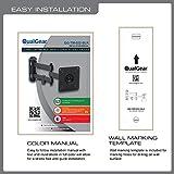 QualGear Articulating Wall Mount for TV Upto 15 - 27-Inch - Black Bild 6