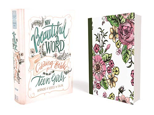 NIV, Beautiful Word Coloring Bible for Teen Girls, Hardcover: Hundreds of Verses to Color -
