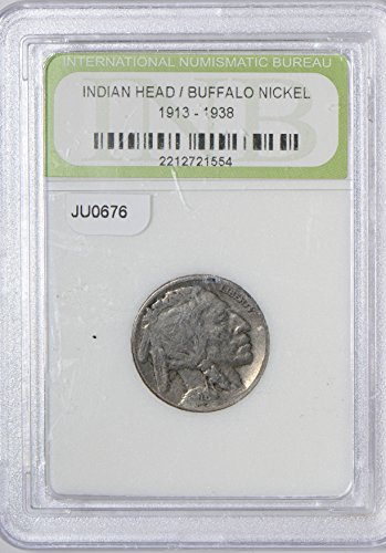 1913 IE JU0676 US Buffalo Nickel ~38 DE PO-01