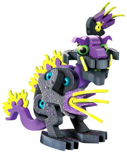 - Bloco Toys Darko Dragon of Darkness | STEM Toy | Fantasy Mythical Creatures | DIY Building Construction Set (85Piece)